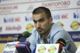 Футбол - Спортният директор на Локомотив СФ - Кристиян Добрев - пресконференция - 14.08.2015