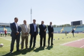 Football - opening of the renovated national stadium