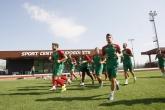 Футбол - Национален отбор У21 - тренировка на базата в Разград - 06.09.2015