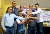 Бокс - награждаване отбор на месеца - 08.09.2015