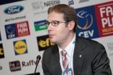 Волейбол - Пресконференция на новия президент на ЕВК Александар Боричич - Арена Армеец София - 18.10.2015