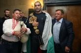 ММА - Благой Иванов Багата се прибра в България - 21.10.2015