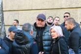 Футбол - Сектор Б протестира пред Българският хелзинкски комитет - 05.11.2015