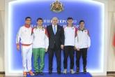 Тенис - националните ни се срещнаха с Министър Красен Кралев - 29.01.2016