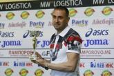 Футбол - награждаване - отбор на месец март - Ивайло Петев - 13.04.2016