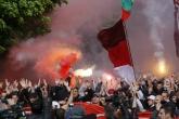 Футбол - протест на феновете на ПФК ЦСКА - 20.04.2016