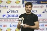 Футбол - награждаване - играч на 36 - ти кръг - Веселин Марчев - 02.06.2016