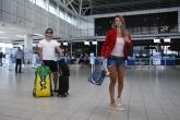 Рио - Цветана Пиронкова и ансамбъла по худ. гимнастика отпътуваха за Рио - 02.08.2016
