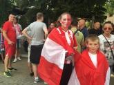 Футбол - фенове на Цървена Звезда преди мача с Лудогорец - 02.08.2016
