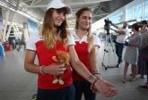Рио - Линда Зечири и сестри Стоеви отпътуваха за олимпиадата - 03.08.2016