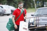 Футбол - футболисти от националният отбор пристигнаха за лагер сбор - 29.08.2016