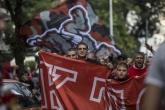 Футбол - шествие на феновете на ЦСКА София преди мача с Черно Море - 18.09.2016