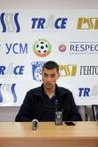 Футбол - Пресконференция на треньора на ПФК Верея Александър Томаш преди мача с Лудогорец 22.09.2016