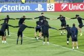 Футбол - Шампионска Лига - тренировка Париж Сен Жермен - 27.09.2016