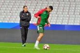 Футбол - Квалификация за СП Русия 2018 - Франция - България - тренировка
