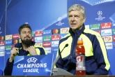 Футбол - Шампионска лига - пресконференция на Арсен Венгер и Оливие Жеру  - 31.10.2016