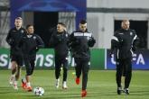 Футбол - официална тренировка на ПФК Лудогорец преди мача с Арсенал - 31.10.2016
