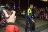Пристигане на Арсенал в София - 31.10.2016