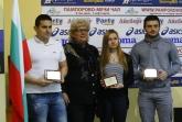 Фехтовка - награждаване - Йоана Илиева , Панчо Пасков,Ивайло Воденов - 15.11.2016