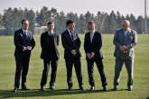 Откриване на Национална футболна база