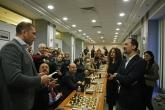 Шах - Веселин Топалов Кубрат Пулев и Христо Йовов с партия шах в ВСС - 21.12.2016