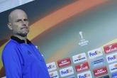 Футбол - Лига Европа - пресконференция на Столе Солбакен и Матиас Йоргенсен - 15.02.2017