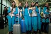 Художествена гимнастика - новите златни момичета кацнаха в България - 21.02.2017