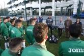 проф. Даниела Дашева посети А - националният отбор в Бояна - 23.03.2017