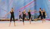 Художествена гимнастика - Подиум тренировката на българският национален отбор - 04.05.2017