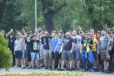 Футбол - Фенове на Левски преди мача с Верея - 04.07.2017