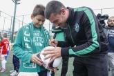 Футбол - ПФК Лудогорец забавлява своите малки приятели 09.06.2017