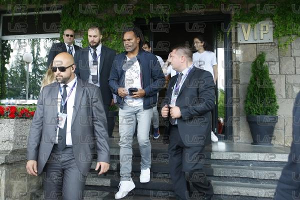 Звездите на за мача на Бербатов кацнаха в София - 14.06.2017