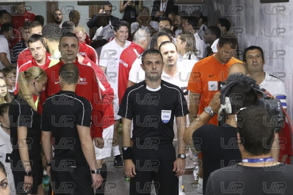 Ексклузивно - бекстейдж преди мача на звездите - 14.06.2017