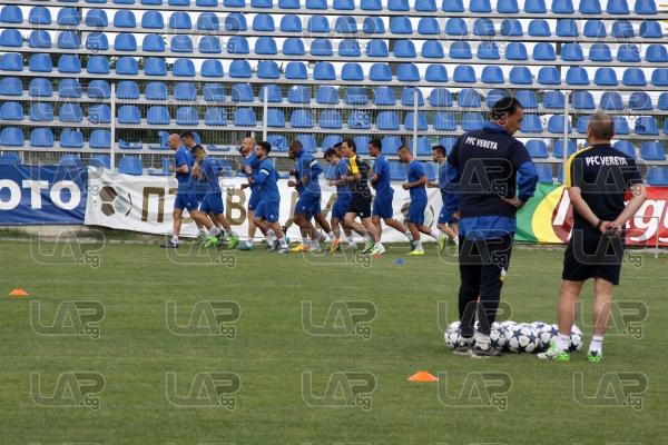 Футбол - Илиян Илиев и ФК Верея с първа тренировка за новия сезон - 14.06.2017