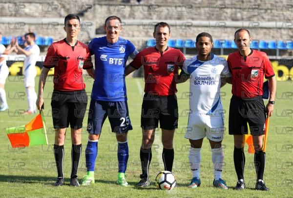 Футбол - контролна среща - Черномрец ( Балчик ) - Динамо (Москва ) - 16.06.2017