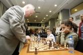 Кубрат Пулев и Христо Йовов в партия шах срещу Анатолий Карпов - 19.06.2017