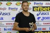 Футбол - Давид Яблонски играч на кръга - награждаване - 17.08.2017