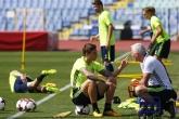 Футбол - тренировка и пресконференция на националния отбор на Швеция - 30.08.2017