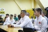 Таекуондо WTF - Александър Джорджев Кристиян Златев Слави Бинев - пресконференция - 31.08.2017