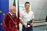 НСА връчи диплома на Димитър Бербатов - 18.09.2017