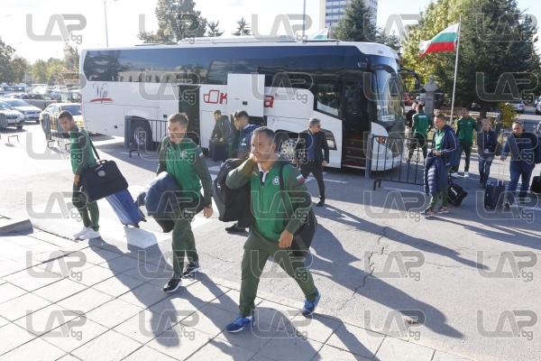 Футбол - националите ни отпътуваха за Люксембург - 09.10.2017