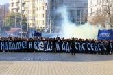 Футбол - Шествие на феновете на Левски преди мача с ЦСКА - 21.10.2017