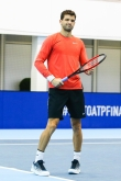 Тенис - АТП финали Лондон - Тренировка на Григор Димитров 14.11.2017