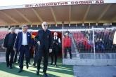 Футбол - Франко Барези бе любезно посрещнат на стадион Локомотив - 23.11.2017