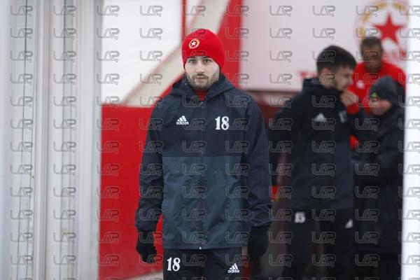 Футбол - тренировка на ПФК ЦСКА - 10.01.2018