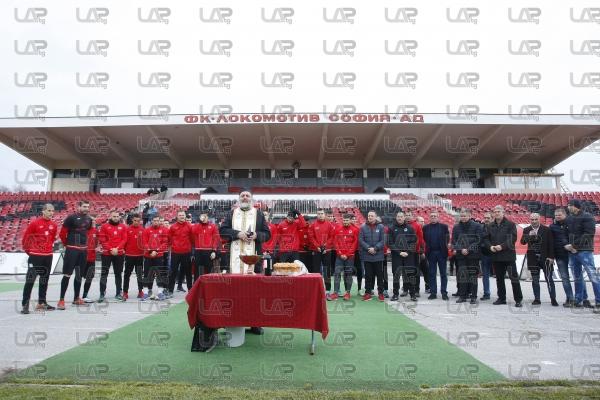 Футбол - тренировка на ФК Локомотив СФ - 10.01.2018