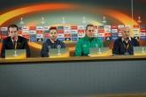 Футбол - пресконференция на Димитър Димитров и Лукас Саша преди мача с Милан - 14.02.2018