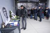 Ръководството на Левски отдаде почит пред Павел Панов - 20.02.2018