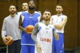 Баскетбол - тренировка на БК Левски Лукойл преди мача във В. Търново - 01.03.2018
