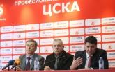 Футбол - пресконференция на ПФК ЦСКА за допускането им до евротурнирите - 02.03.2018